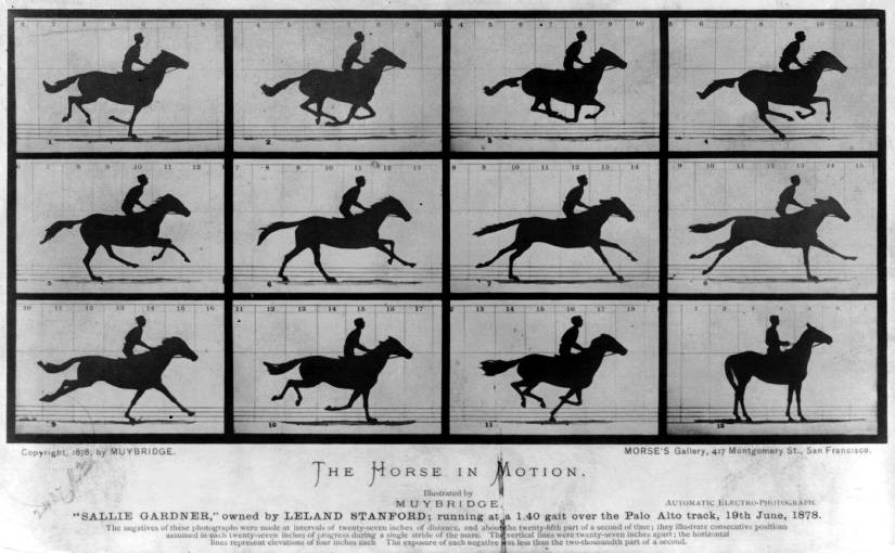 Eadweard Muybridge [Public domain oder Public domain], via Wikimedia Commons